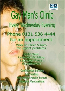 Gay sexual health edinburgh
